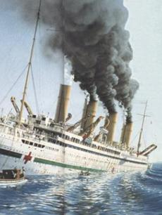 泰坦尼克号悲情姐妹-不列颠尼克号