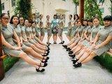 幼儿教师穿旗袍上课 民国范儿