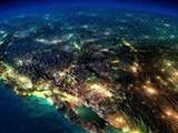 NASA航拍地球各地绝美夜景