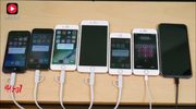 苹果5/ 5S与苹果 6/ 6S与苹果7/ 7plus与苹果 SE速度测试对比