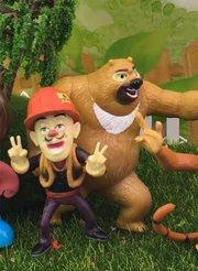 百变熊出没玩具