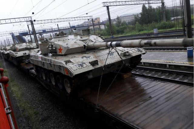 Russian media: Chinese 96B power leading Russian tanks but at a much more