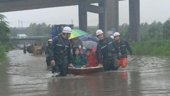 Xingtai official response to the 12 village water: Heavy Rainfall over the river carrying capacity