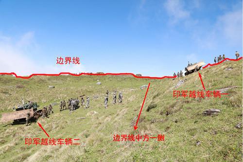 中国军队越过边境进入印度领土?外交部回应