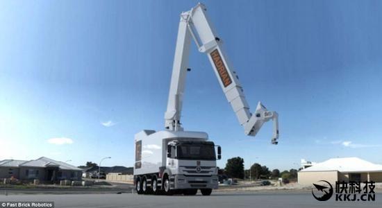 机器人2天建起一栋楼:搬砖的失业了 - 卧龙居士 - 卧龙居士