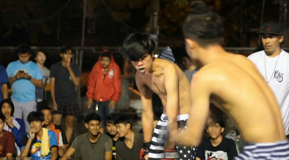 Thailand street fighting swept the minimum participants aged 16 years