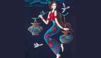 傣族蜡染工艺品