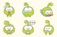 豆娃互动聊天形象 豆娃qq表情图片