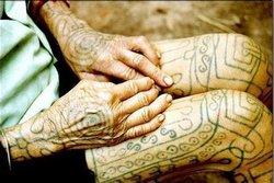 黎族纹身分享展示图片