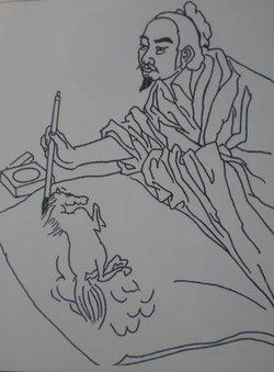 根的初生结构手绘简图