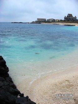 牛岛八景之一的珊瑚杀海水浴场