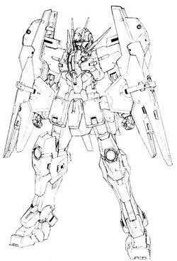 GNY-002FB黑色星水女神高达F型