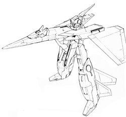 GNY-003FB黑色战车女神高达F型