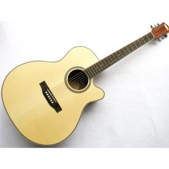 Season思雅晨41寸吉它套装缺角木吉他外壳5s背夹民谣模具图片