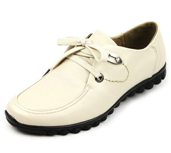新品时尚潮鞋男士牛皮休闲鞋