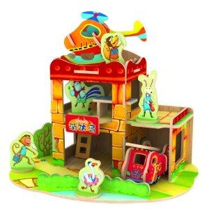 儿童益智玩具场景式拼装积木拼图