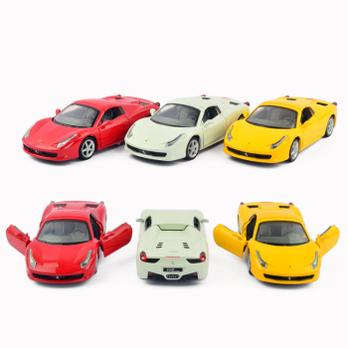 世界名车兰博基尼布加迪宝马声光回力合金仿真模型玩具车 高清图片