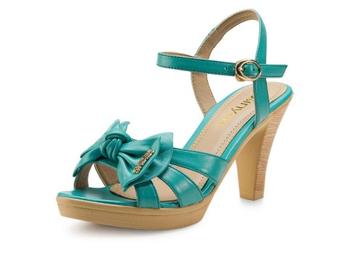 卓诗尼 女凉鞋 蓝色