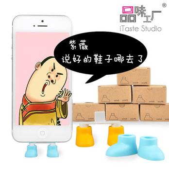 苹果配件iphone5三星安卓i9300数据口防尘塞