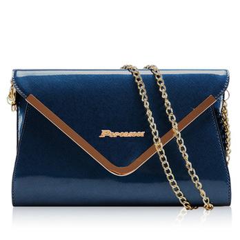 珀莉丝链条挎包包2013新款女包单肩斜设备糖v链条包装盒信封亚克力图片