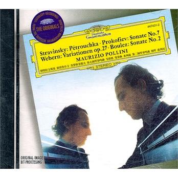 ...韦伯恩 变奏曲 布列兹 第二钢琴奏鸣曲 钢琴 波利尼 CD 特...
