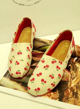女士帆布鞋懒人鞋平底鞋