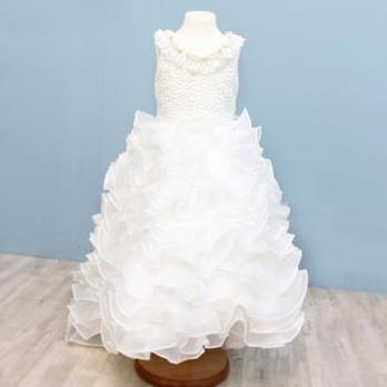 女童婚纱裙 女童礼服儿童婚纱长款