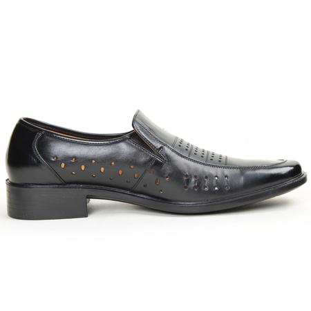金猴皮鞋正品夏季男士真皮鞋时尚正装商务男凉鞋男