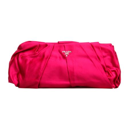 prada(普拉达)玫红色女士手包