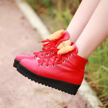 短靴子儿童鞋子女童靴