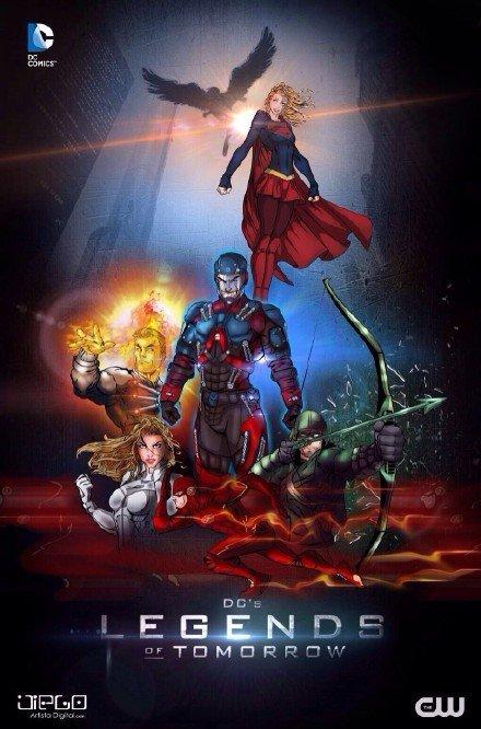 CW《明日传奇》首张概念图公布