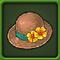 装饰着花的帽子.png