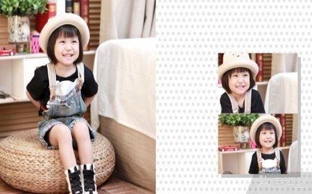毛毛虫儿童摄影套餐【8.3折】