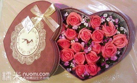 一束玫瑰花彩铅画