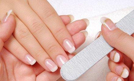 光疗美甲单色最简单的步骤和必需用品名称-美甲光疗