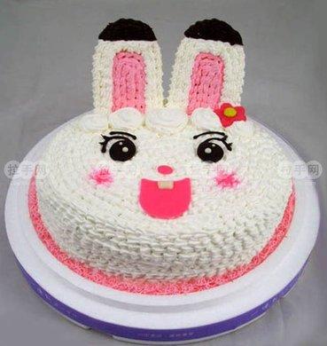8英寸卡通动物蛋糕1个