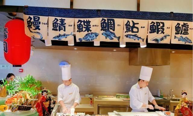 人均享受100不足广州日航情趣五星级自助餐畅吴姿谊天后微酒店博图片