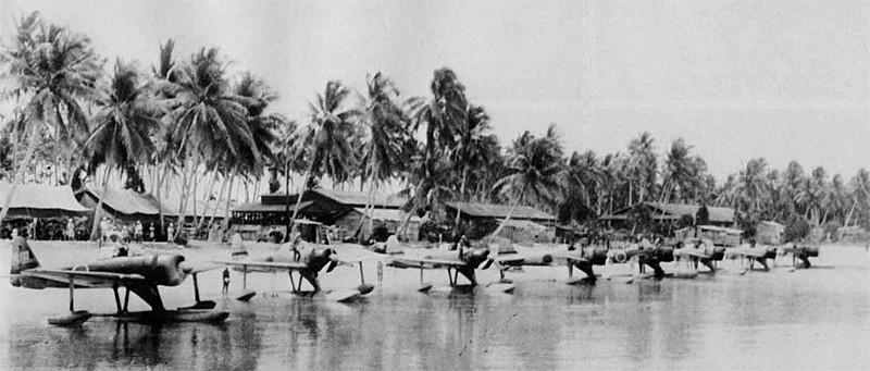 后来这种过时的水上飞机被用来训练川西n1k1强风水上