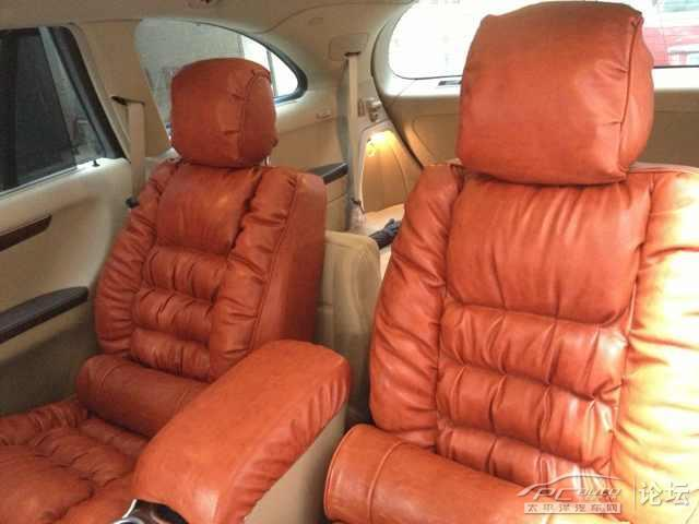汽车手工制作的坐垫