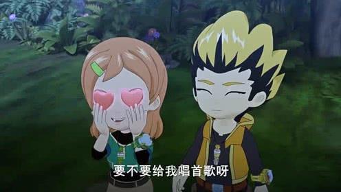 《斗龙战士》蓝天画对东方末犯花痴,东方末:这么丑他才不会珍惜