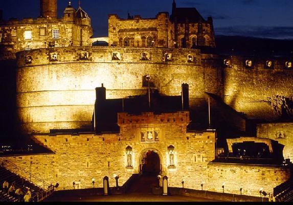 漫画城堡俯视素材图片