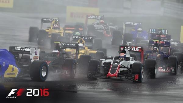 《F1 2016》正式上线Steam