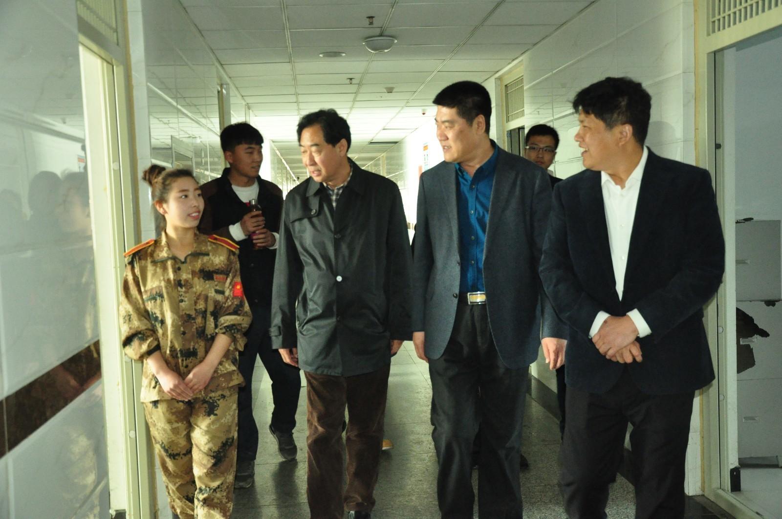 秦皇岛市青龙县王殿忠县长访问保定贺阳教育集团