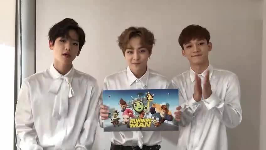 EXO-CBX献唱《Running Man》动画主题曲