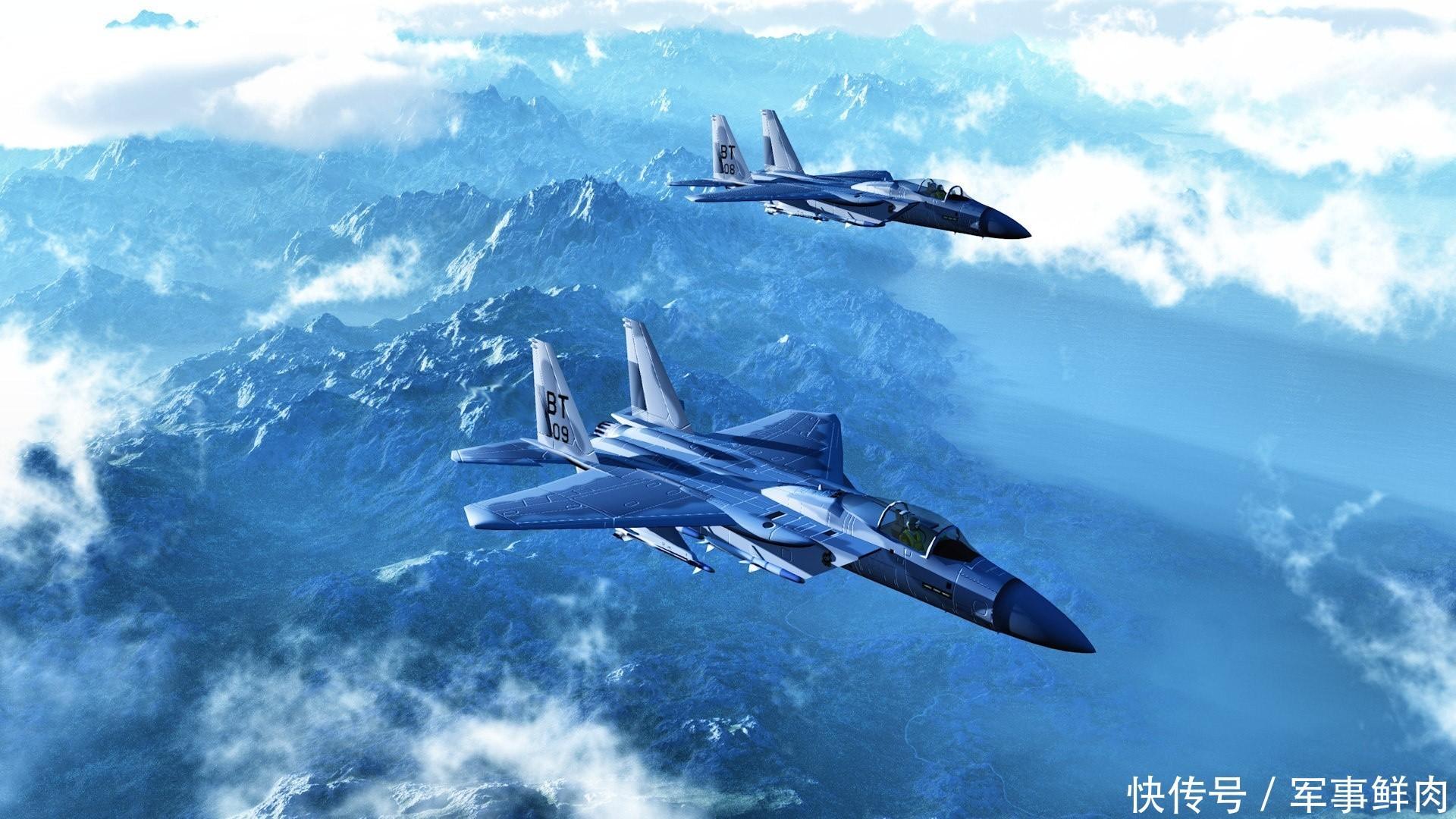 歼十飞机飞行图片素材