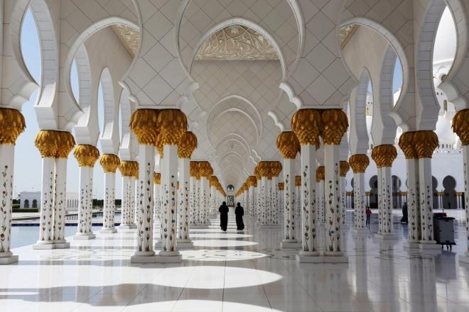 世界上最奢华的清真寺,绝对超乎你想象!(3)