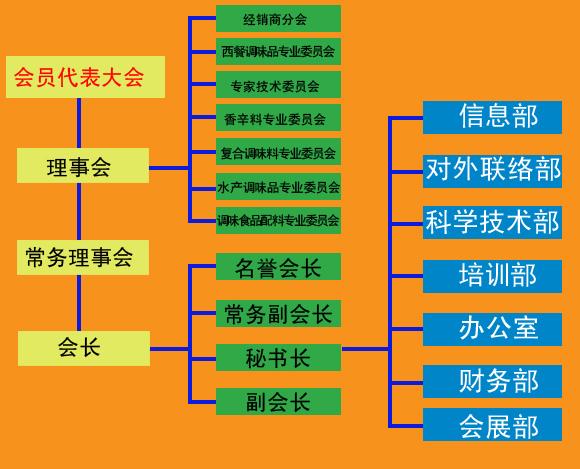 信息处组织结构图