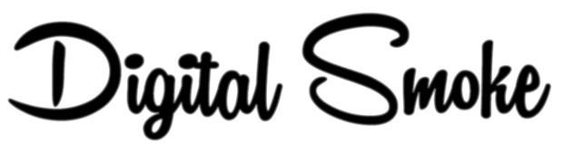 数字烟的英文logo是什么字体