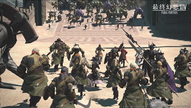 SE大作入驻WeGame 《最终幻想14》中国二区今日开放