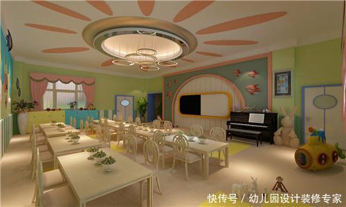 比如天花板设计,可以采用星空布局,也可以安装很多柔色的吊灯,点缀